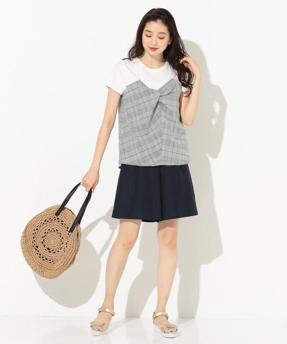 any SiS ビスチェドッキング Tシャツ ホワイト系3