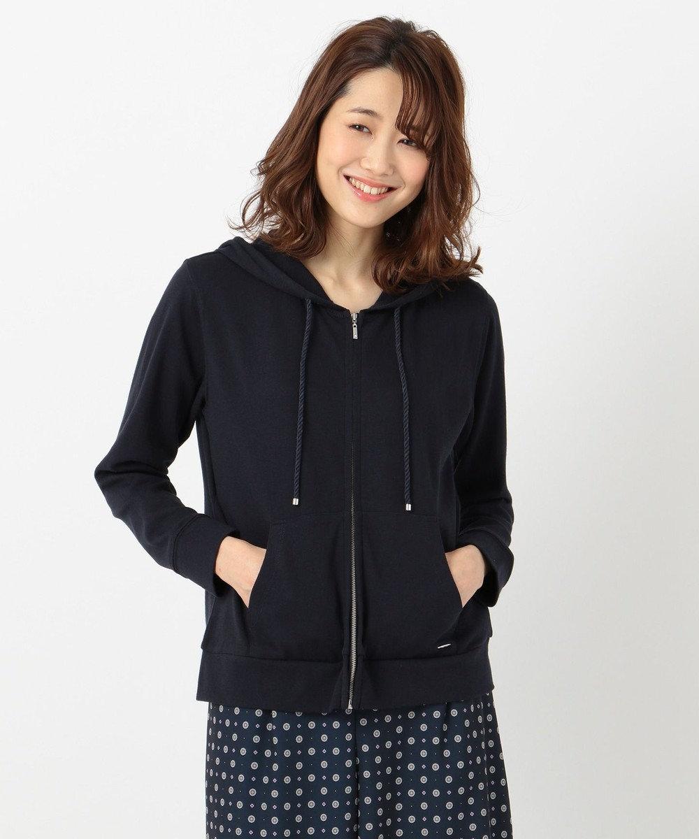 any SiS S 【UVケア&接触冷感】CRISP COOL パーカー ネイビー系
