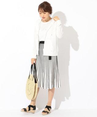 any SiS S 【UVケア&接触冷感】CRISP COOL パーカー ホワイト系