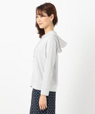 any SiS S 【UVケア&接触冷感】CRISP COOL パーカー ライトグレー系