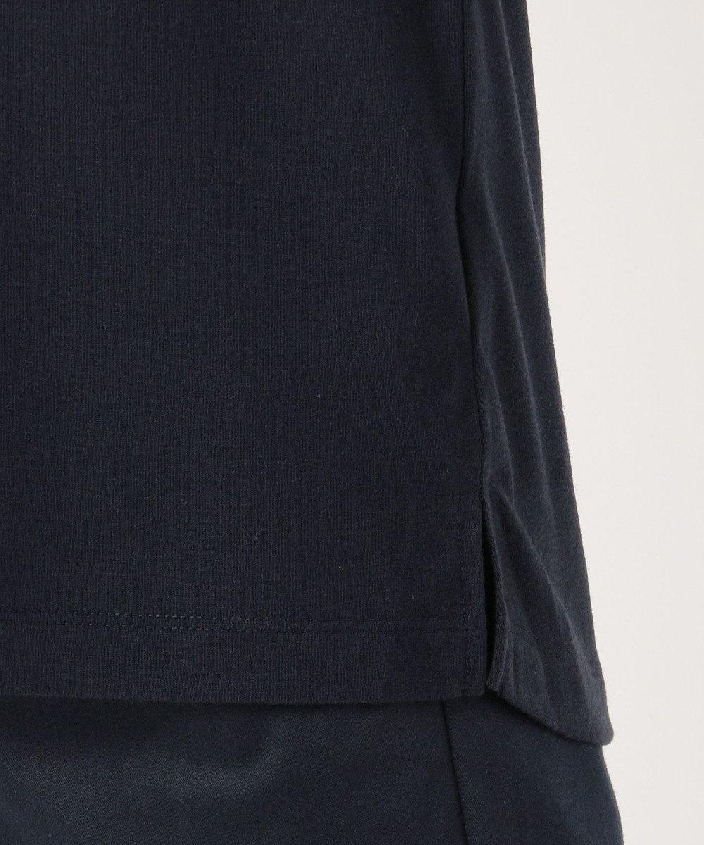 any SiS S バックプリントロゴ Tシャツ ネイビー系