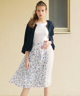 any SiS S バックプリントロゴ Tシャツ ホワイト系
