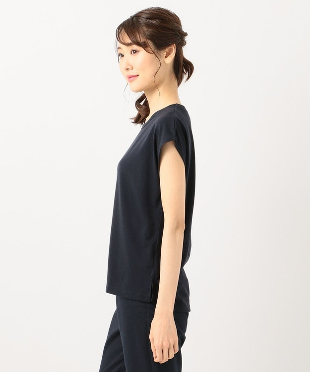 any SiS S バックプリントロゴ Tシャツ