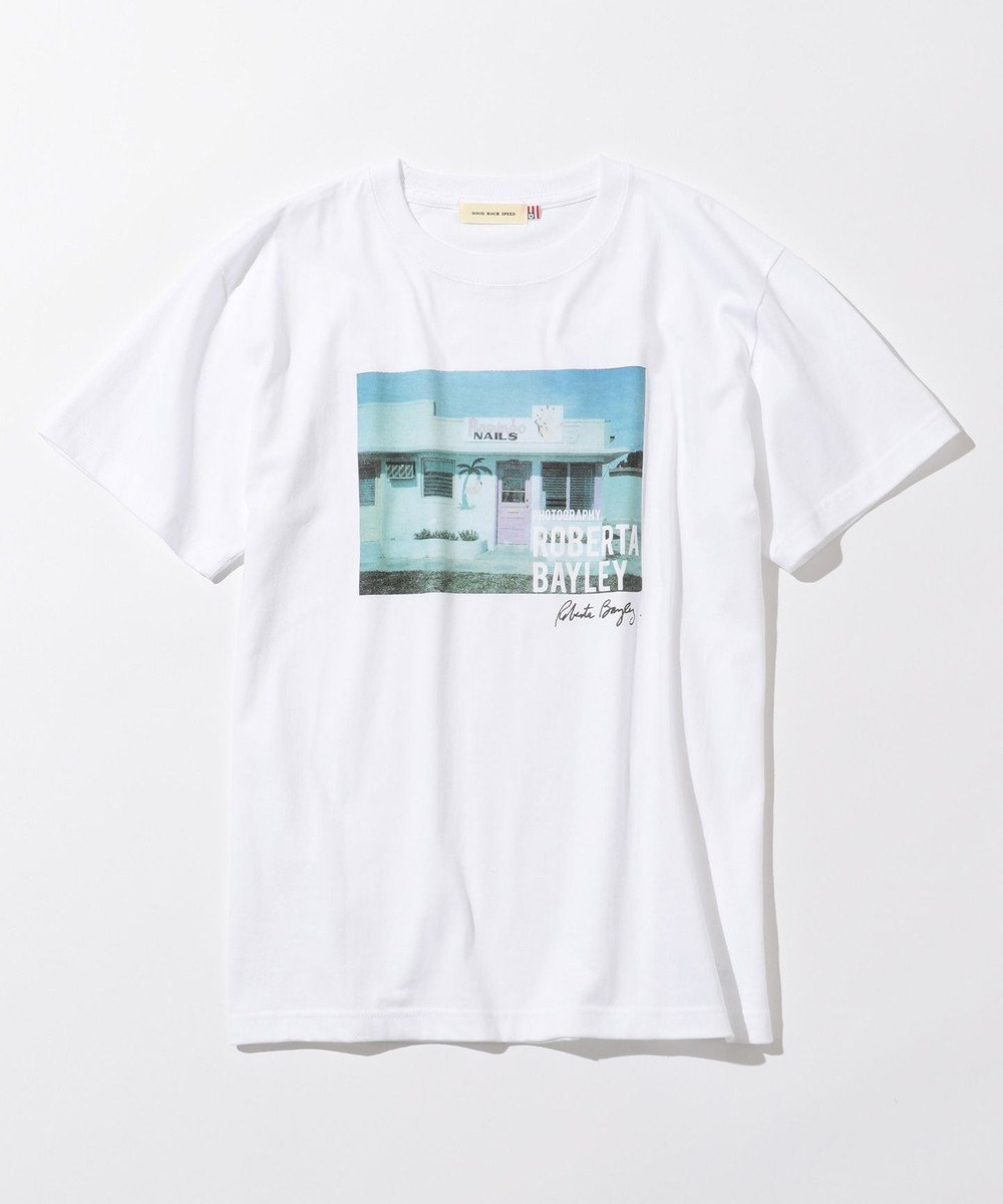 any SiS 【L'aube】Roberta Bayleyフォト Tシャツ ホワイト系