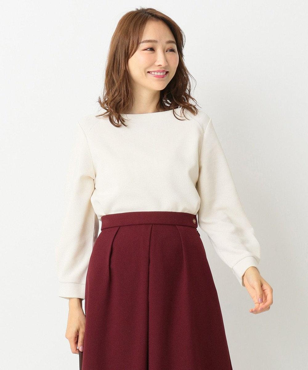 any SiS 【洗える】リップル プルオーバー アイボリー系