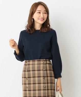 any SiS 【洗える】リップル プルオーバー ネイビー系