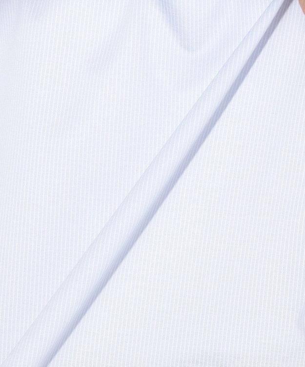 組曲 【一部店舗・WEB限定/洗える】コットンストライプジャガード カットソー
