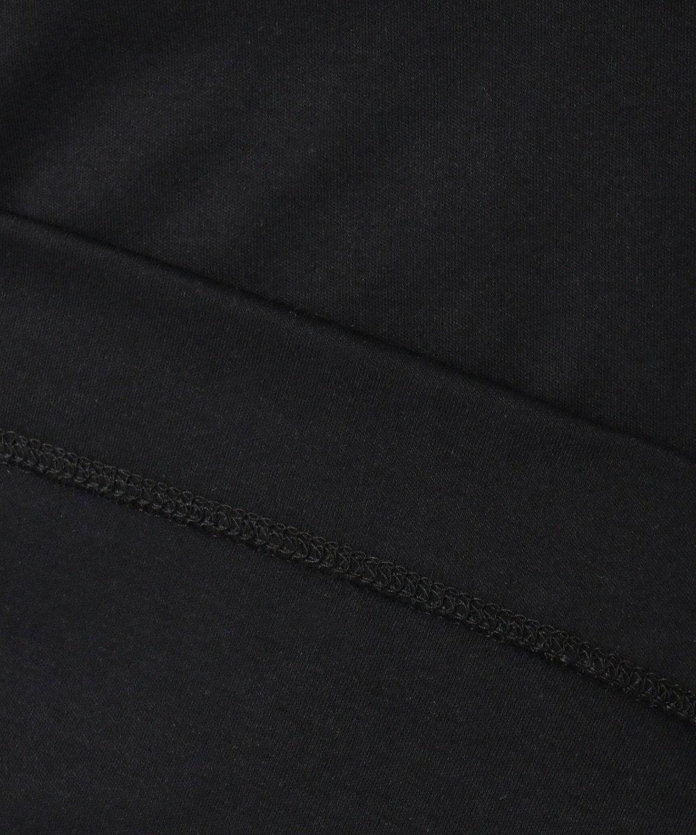組曲 S 【洗える】ハイゲージスムース コンパクト刺繍Tシャツ ブラック系
