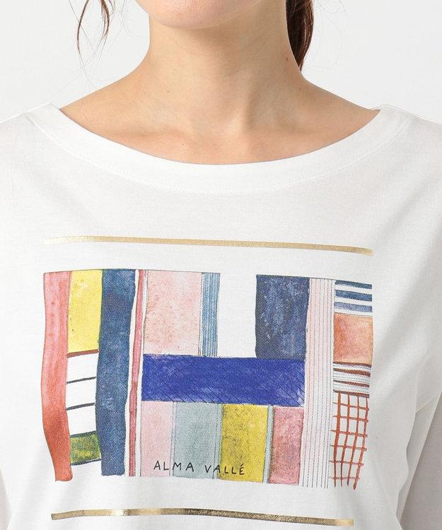 組曲 L 【洗える】アーティストコラボTシャツ Alma