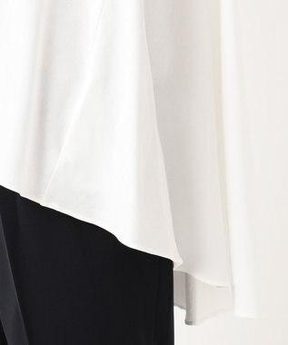 組曲 【Rythme KUMIKYOKU】ドレープ Tシャツ ホワイト系