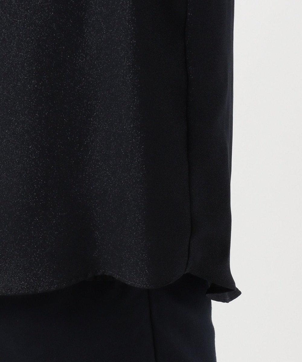 組曲 S 【ブローチ付き】プラチナアムンゼン ブラウス ネイビー系