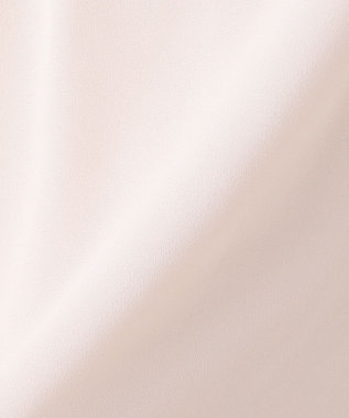 組曲 S 【洗える】レースコンビジョーゼット カットソー ピンク系