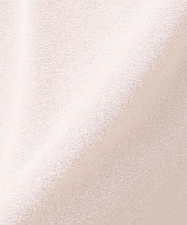組曲 S 【洗える】レースコンビジョーゼット カットソー