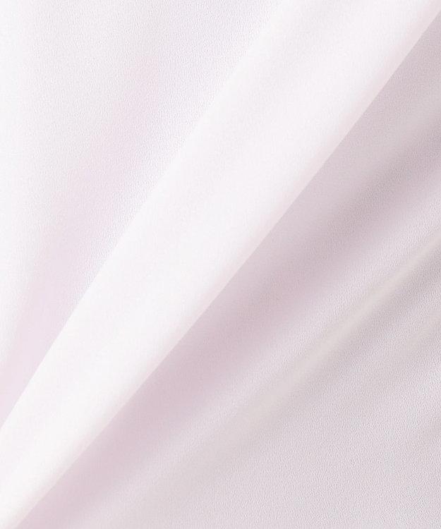 組曲 L 【洗える】ソフトジョーゼット ブラウス