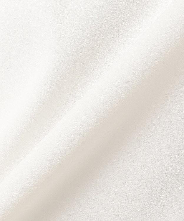 組曲 L 【洗える】マルチストライププリントVネック ブラウス