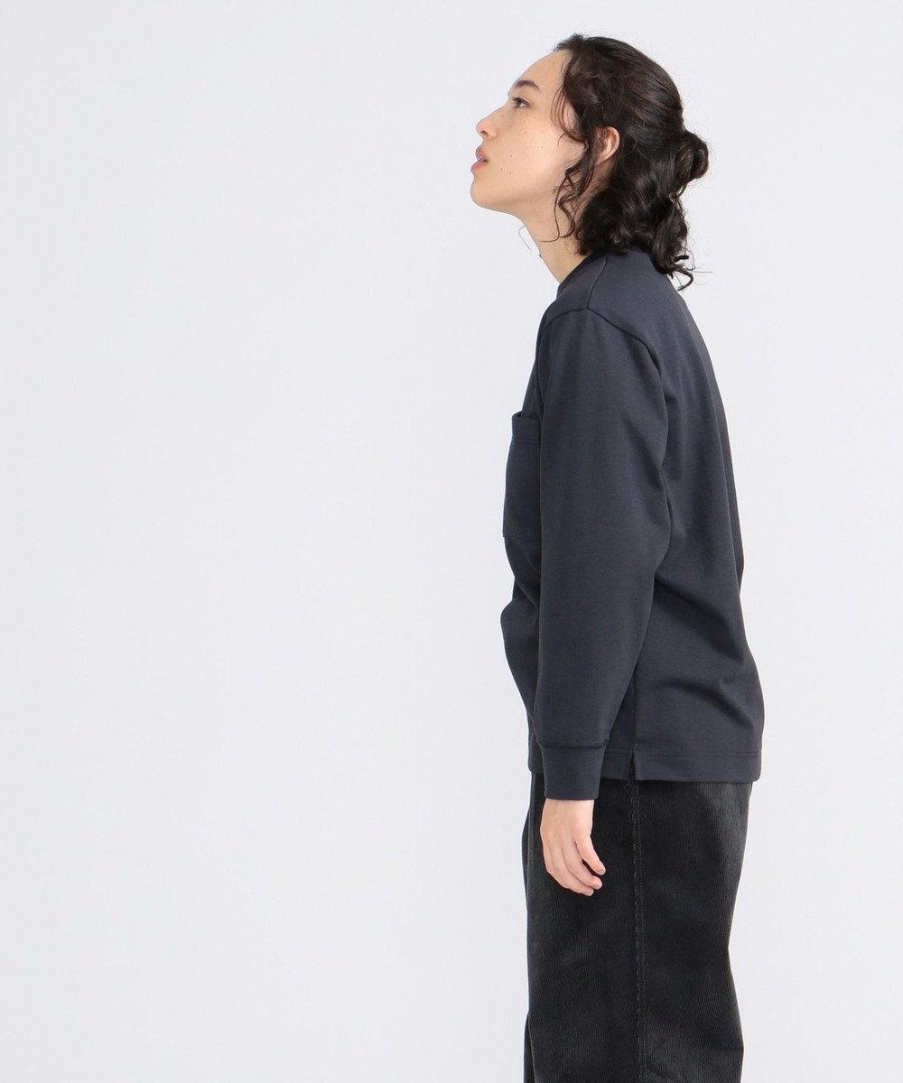 J.PRESS YORK STREET 【UNISEX】MVS天竺 ロングTシャツ ネイビー系