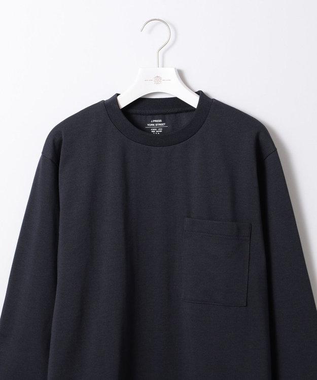 J.PRESS YORK STREET 【UNISEX】MVS天竺 ロングTシャツ