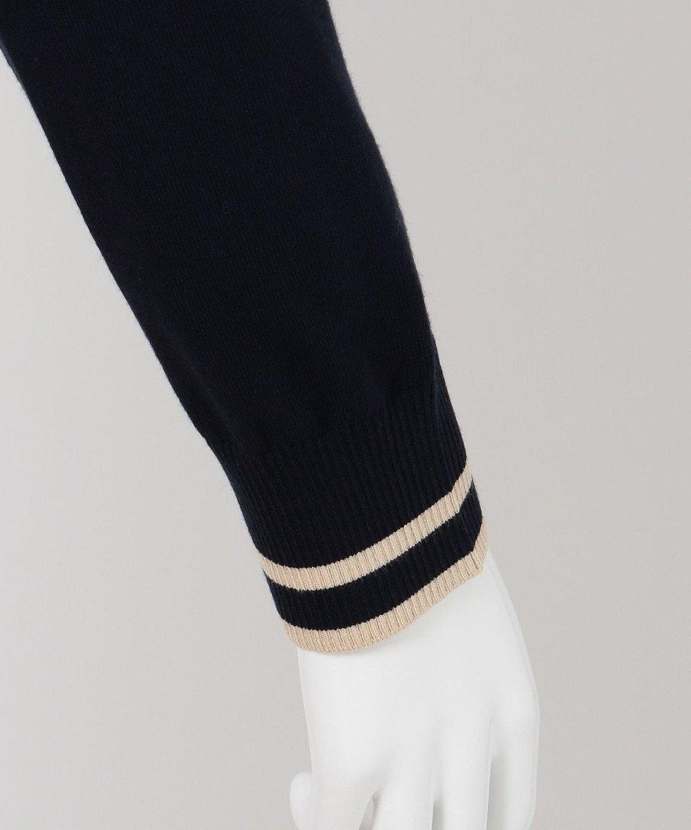 組曲 【KMKK】ヴィスコースストレッチ カーディガン ネイビー系