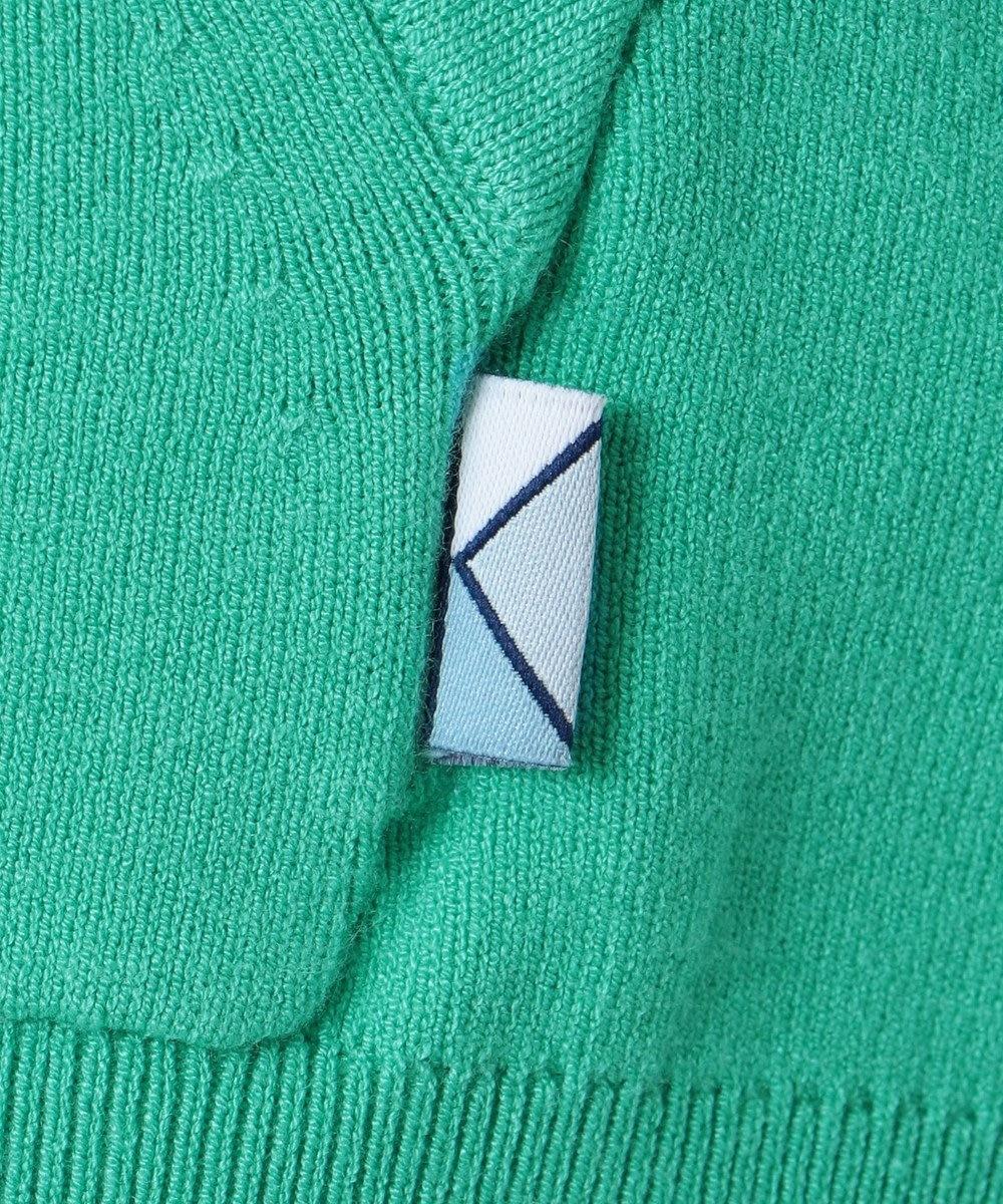 組曲 【KMKK】VIS/PE ニットアップ ジップアップパーカ(KF22) スモーキーグリーン系