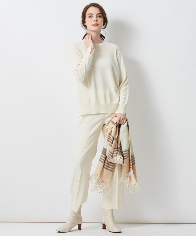 23区 【洗える】フェアウール ニット