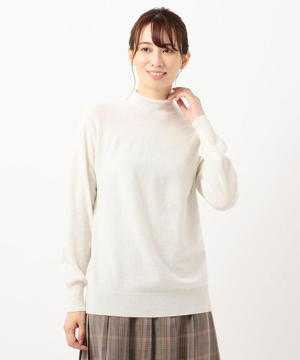 23区 【洗える】フェアウール ホールガーメント ニット オフ系