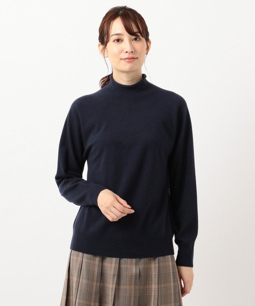 23区 【洗える】フェアウール ホールガーメント ニット キャメル系