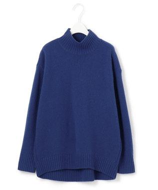 ICB 【マガジン掲載】Soft Cashmere Mix ハイネックニット(番号CL24) ブルー