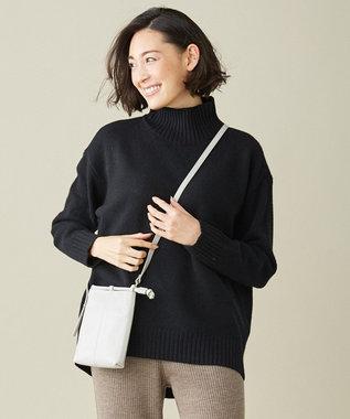 ICB 【マガジン掲載】Soft Cashmere Mix ハイネックニット(番号CL24) ブラック