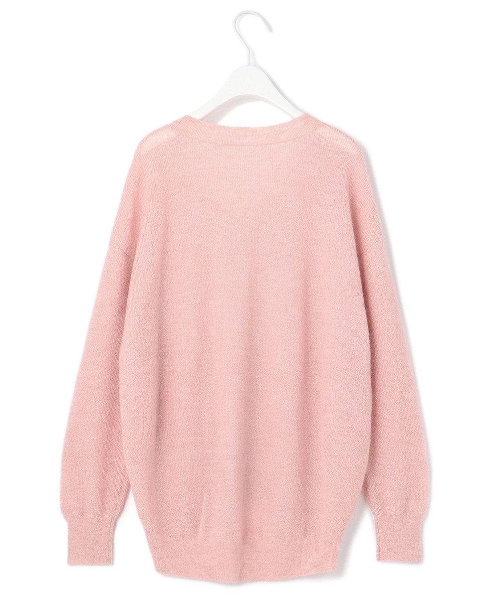 ICB L 【WEB・一部店舗限定】Airy Alpaca ニット ピンク系