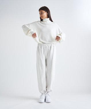 ATON MAT WOOL / タートルネックセーター(UNISEX) WARM WHITE
