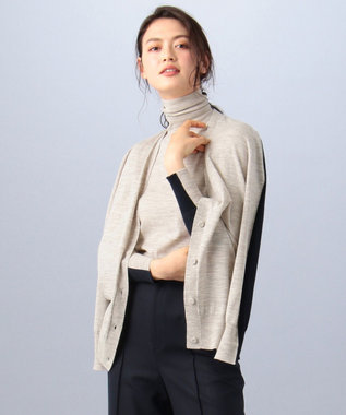 BEIGE, KEITH / カーディガン Oyster×Navy