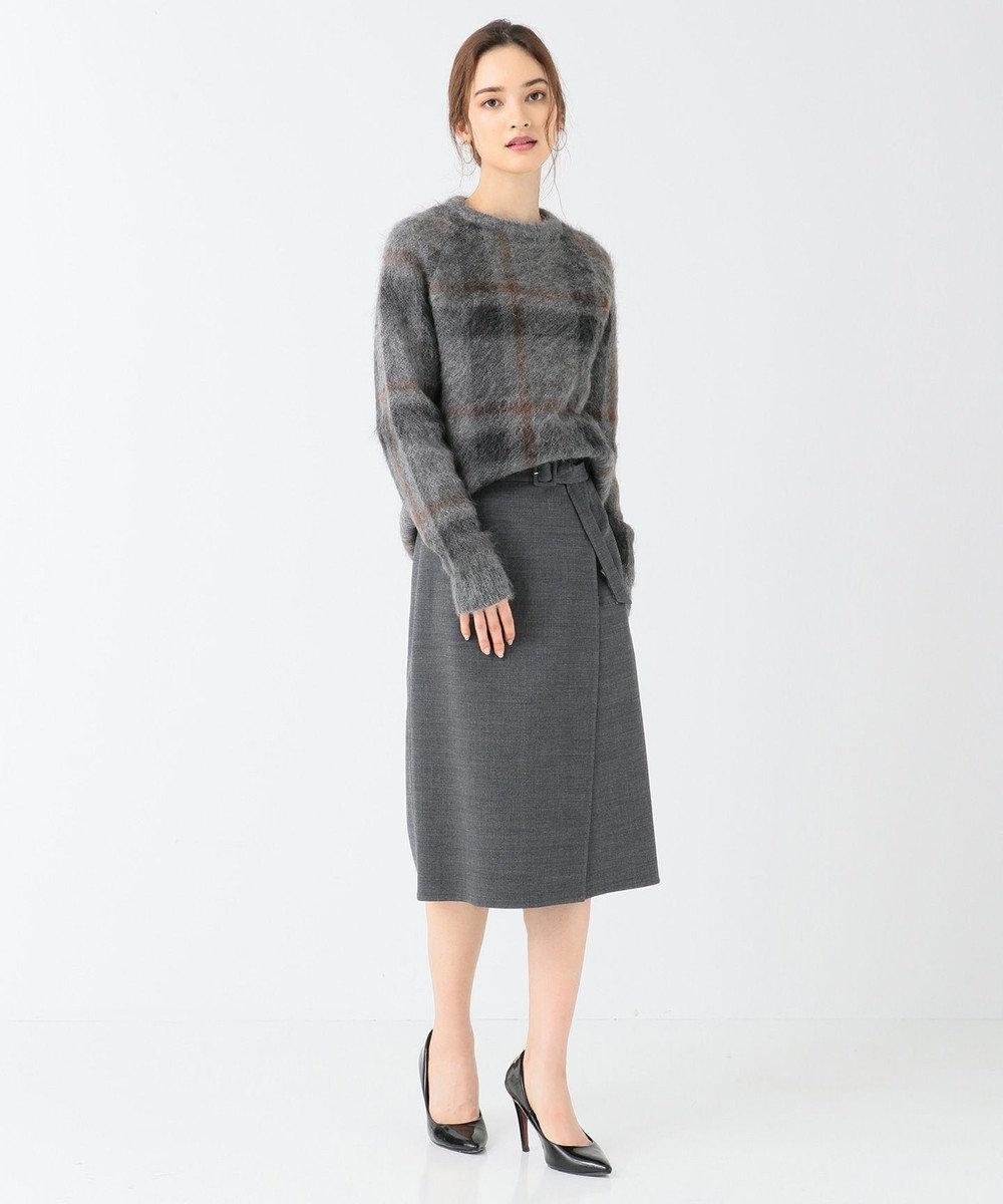 BEIGE, PENDEEN / ニット Grey Check