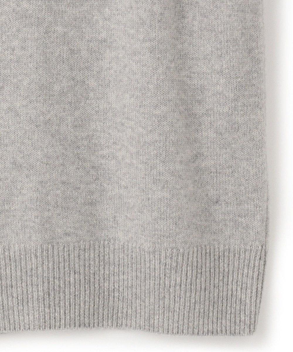 BEIGE, 【S-size】ENSIS / ハイネックニット Lt.Grey