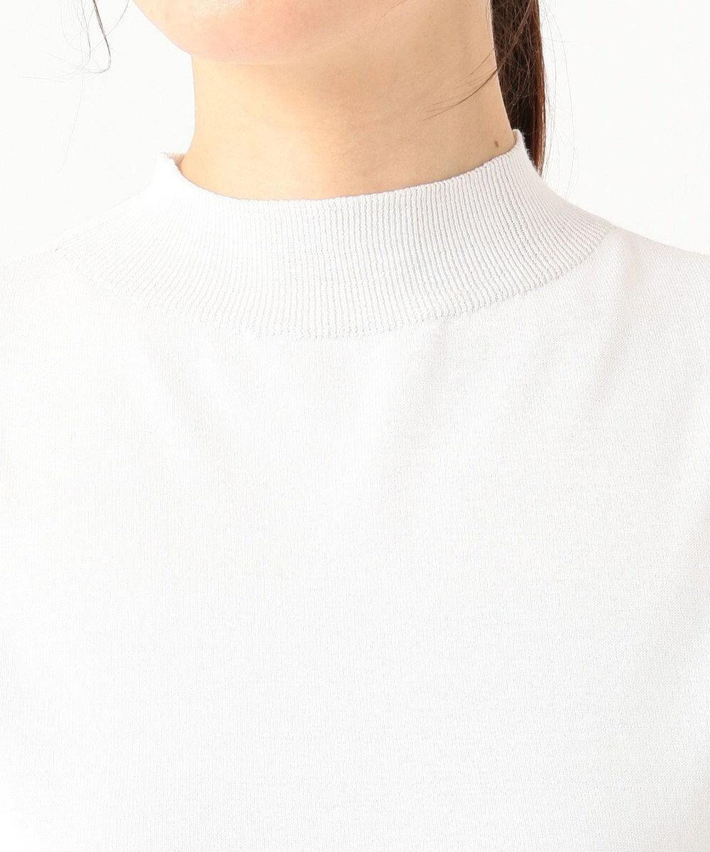 ICB HiTwist Cotton ノースリーブニット ホワイト系