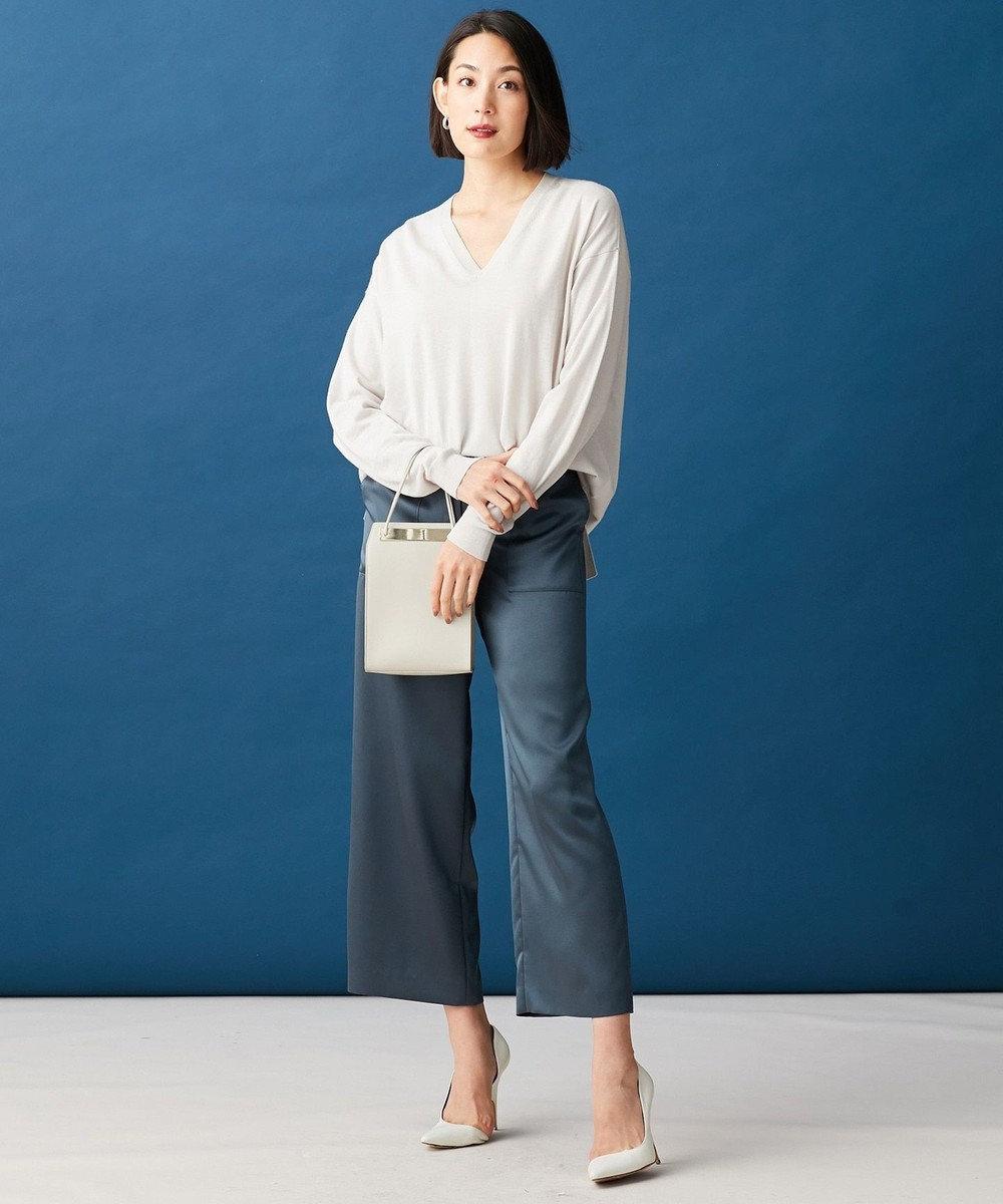 ICB Compact Wool ニット アイボリー系