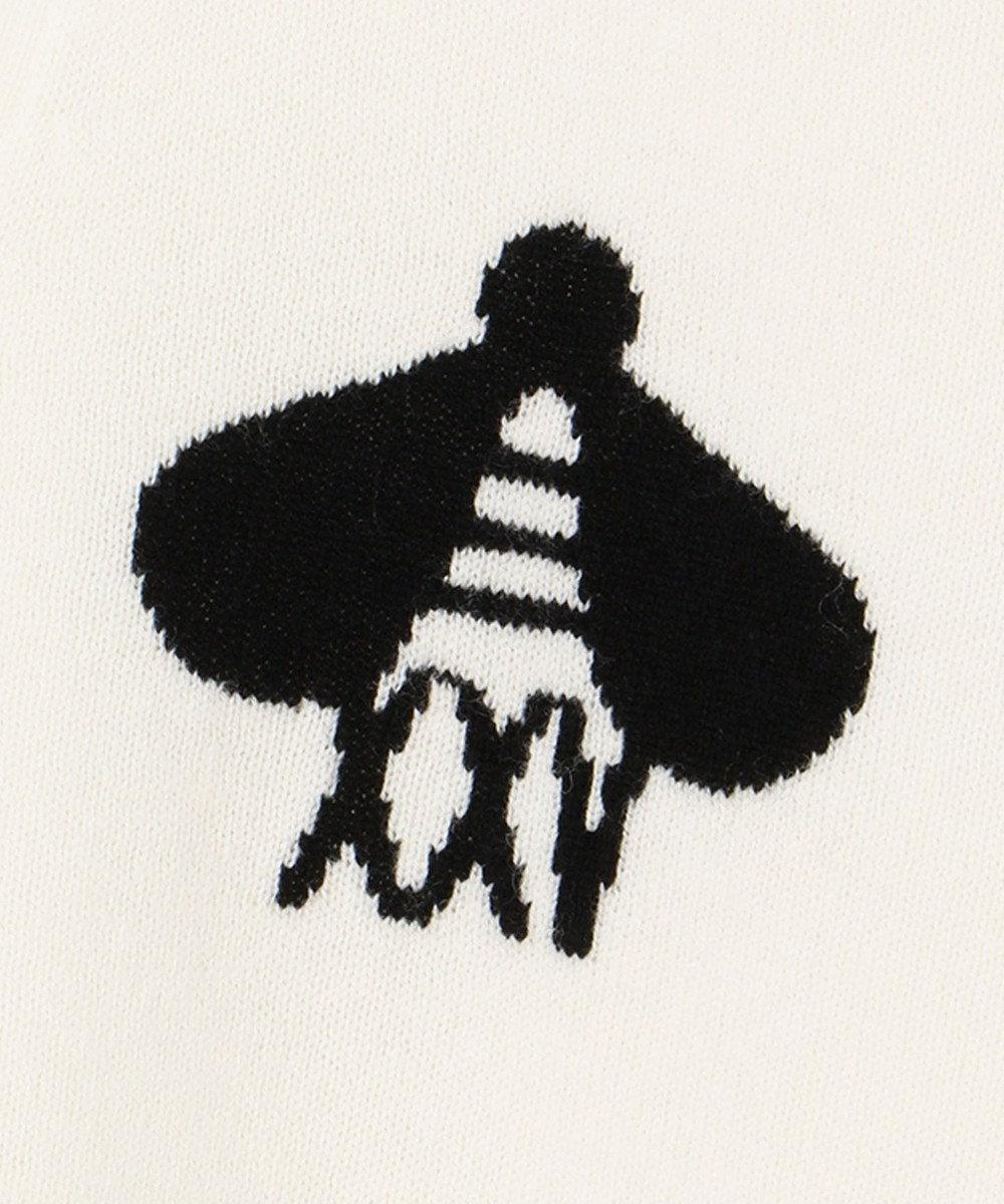 ICB 【マガジン掲載】25thKnit ニットカーディガン(番号CL28) アイボリー系2