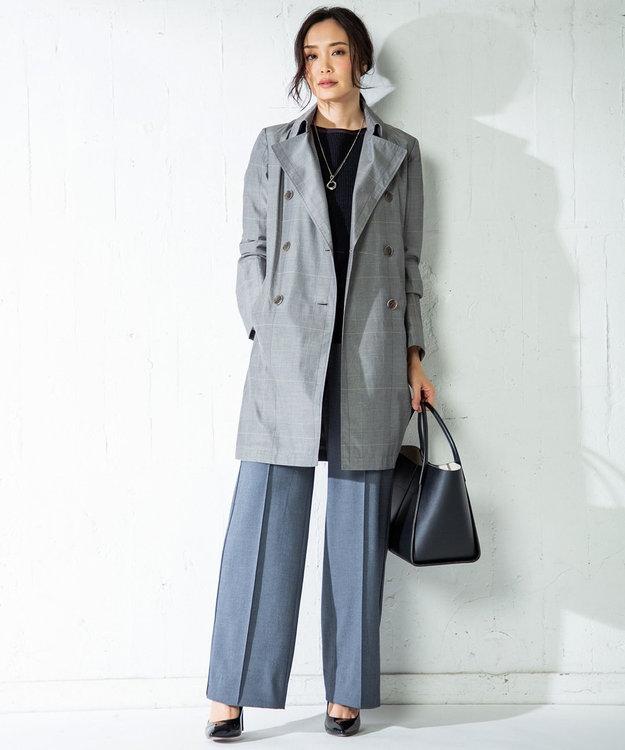 ICB L Linen Half Cardigan ニット