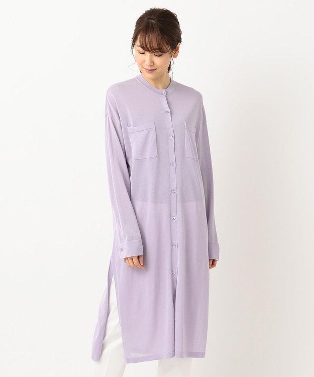 ICB Sheer Gauze ニット カーディガン