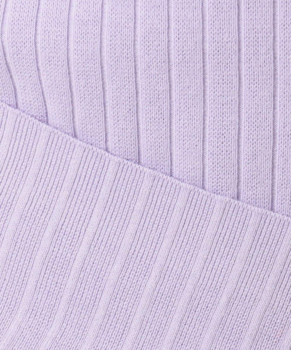 ICB L High Twist Cotton ニット パープル系