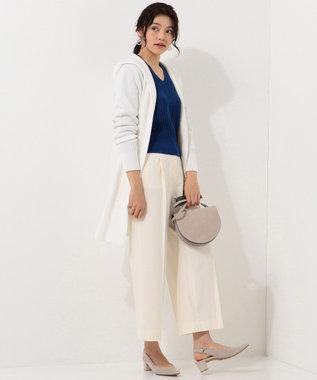 ICB L 【2019春のWEB限定カラー】Compact Air Cotton カーディガン ホワイト系