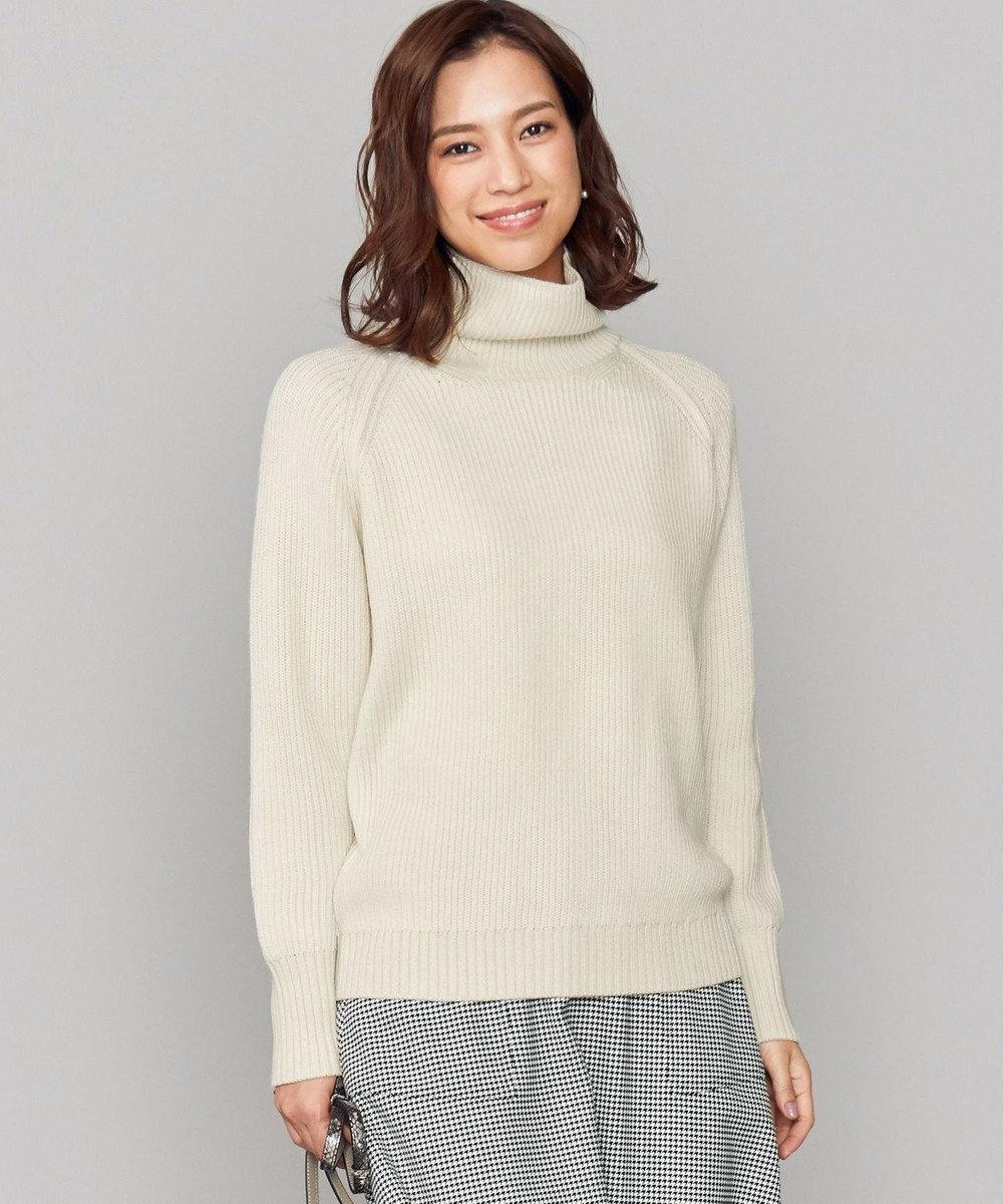ICB 【店頭売れ筋】Chambray Cardigan ニット ホワイト系