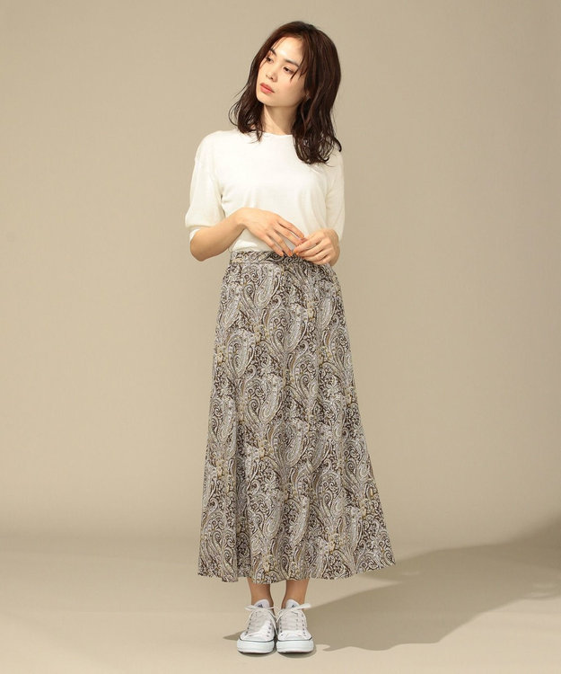 any FAM 【前後着用可】ニットTシャツ プルオーバー