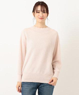 any FAM 【松本まりかさん着用】ベーシックドルマン ニット ピンク系