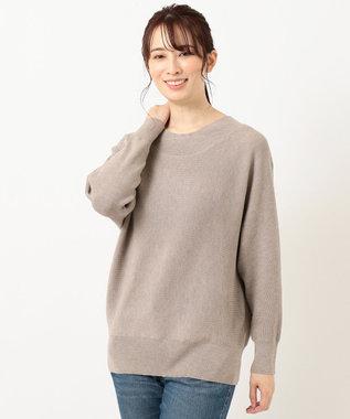 any FAM 【松本まりかさん着用】ベーシックドルマン ニット ブラウン系