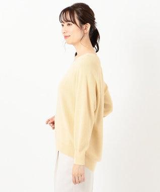 any FAM 【洗える】NEW SPRING ニット イエロー系