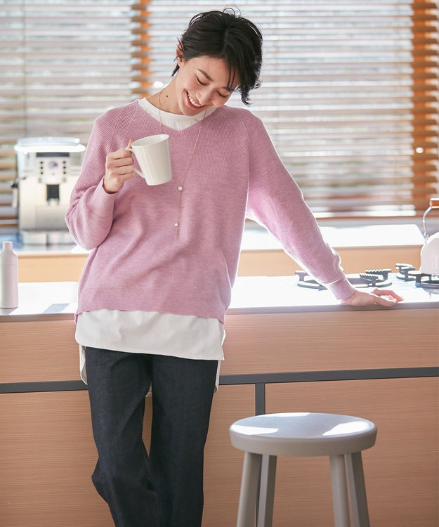 any FAM 【洗える】NEW SPRING ニット