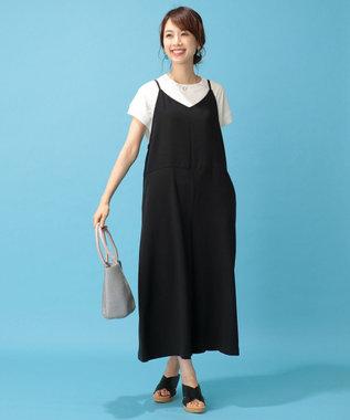 any FAM 【洗える】リブコンビ Tシャツ ホワイト系