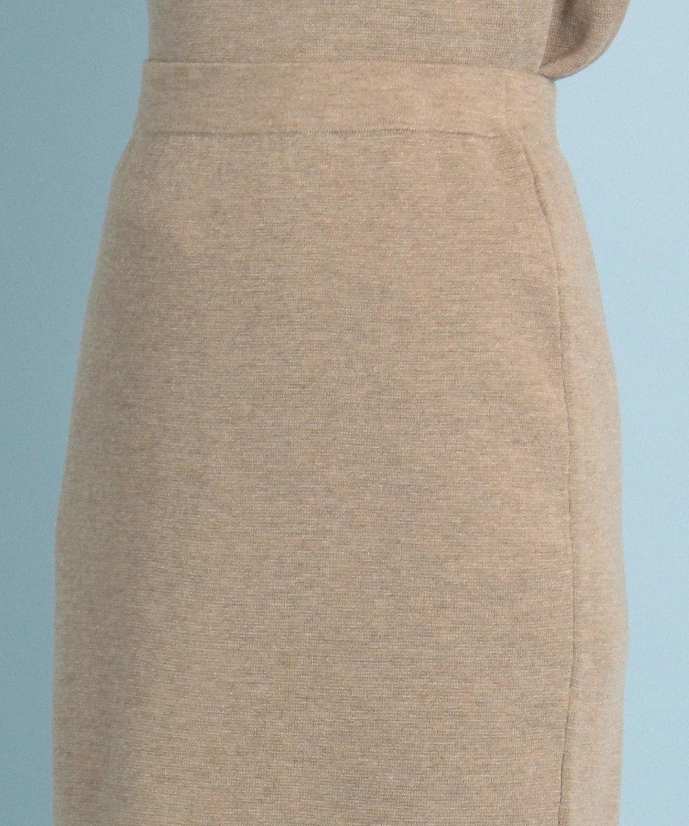 any FAM 【WEB限定】ニットタイトスカート セットアップ ブラウン系