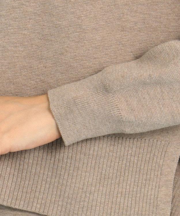 any FAM L 【WEB限定】ニットタイトスカート セットアップ ブラウン系