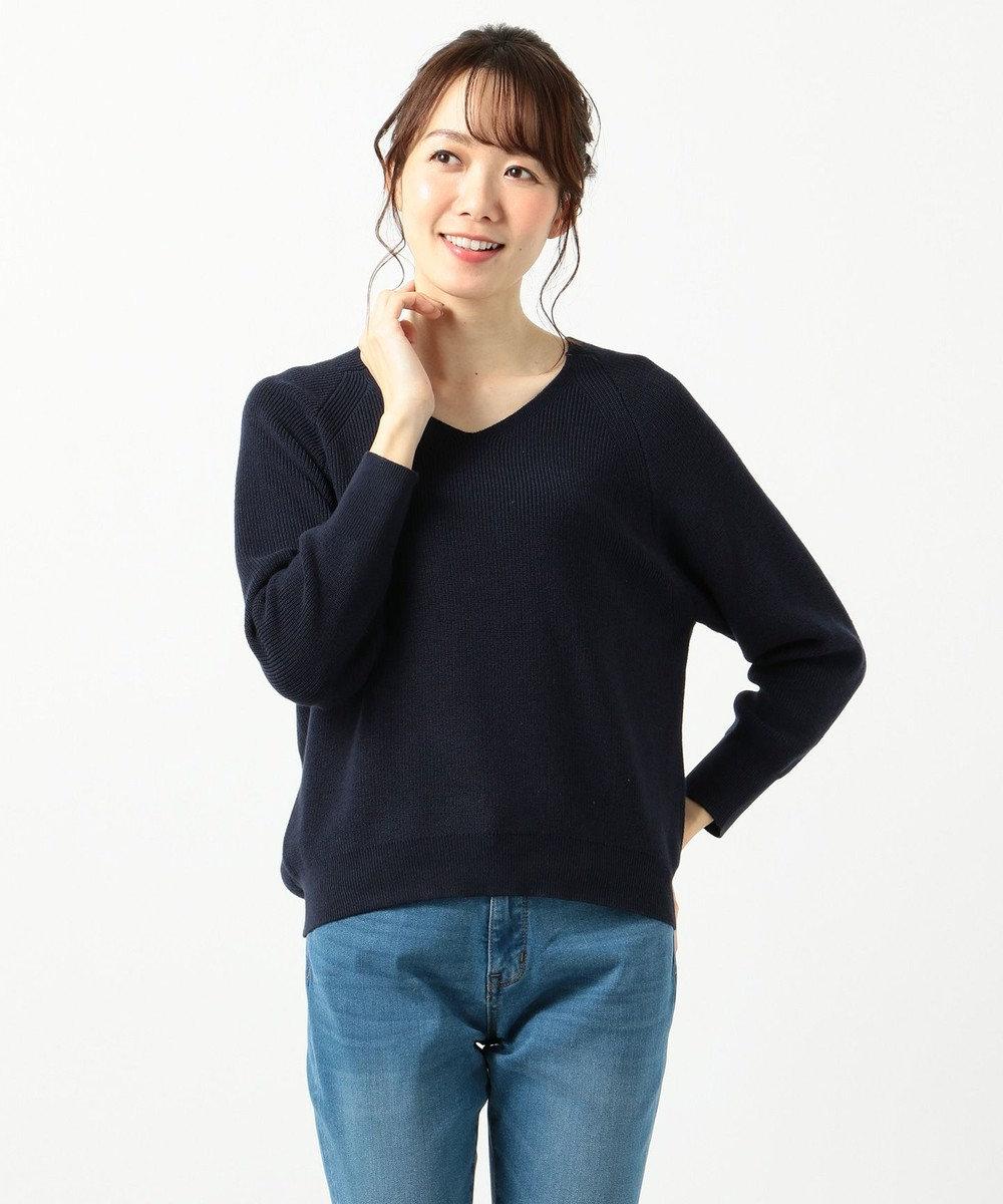 any FAM 【選べる12色】New Yearニット プルオーバー ネイビー系